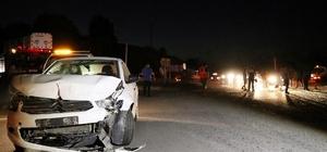 Sakarya'da feci kaza: 1 ölü, 8 yaralı Kaza bölgesinde adeta can pazarı yaşandı