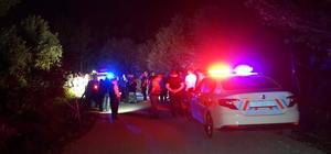 Dereye yuvarlanan motosiklet sürücüsü hayatını kaybetti