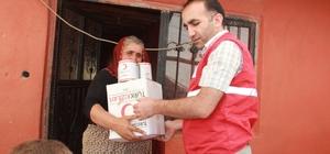 Duman kardeşlerin yürek yakan dramı Yarı çıplak çocukların hali, Kızılay Başkanı Bozkurt'u duygulandırdı