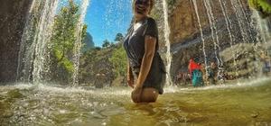 """Turistlerin yeni gözdesi Aladağ Küp Şelaleleri Prodoss Başkanı Mehmet Yakut: """"Küp Şelaleleri ve Aladağ Yerköprü hem doğa yürüyüşçülerini hem de turistlerin uğrak yeri olmaya başladı"""""""