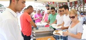 Karşıyaka'da 2 bin kişilik bayram yemeği