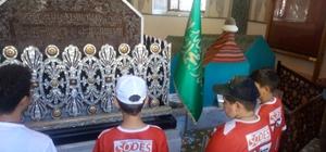 Dezavantajlı çocuklar Osman Gazi'yi unutmadı