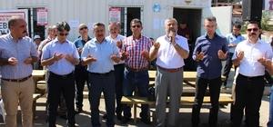 Seydişehir'de canlı hayvan pazarı dualarla açıldı