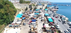 Sinop'ta kurban pazarında yoğunluk