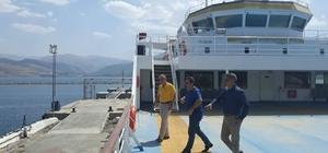 Bingöl Valisi Mantı'dan Tatvan ziyareti