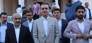"""Çelik: """"Millet olmanın ruh köküne nasıl sahip olduğumuzu bir kere daha gösterdik"""" AK Parti Sözcüsü Ömer Çelik, bayram namazını Adana'da kıldı"""