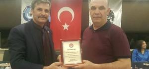 Başkan Rahim Varol görevi Toka'ya devretti Türk Büro Sen'de bayrak değişimi