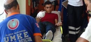 Şanlıurfa'da acemi kasaplar hastaneleri doldurdu Şanlıurfa'da 82 acemi kasap kurbanlık yerine kendini kesti