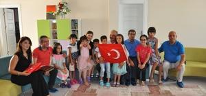 Başkan Dinçer'den yuva çocuklarına şefkat eli