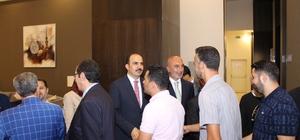 AK Parti Konya bayramlaşma programında bir araya geldi