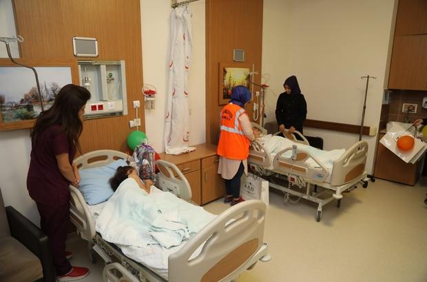 Kilis Belediyesi Hasta çocukları Unutmadı Kilis Haberleri