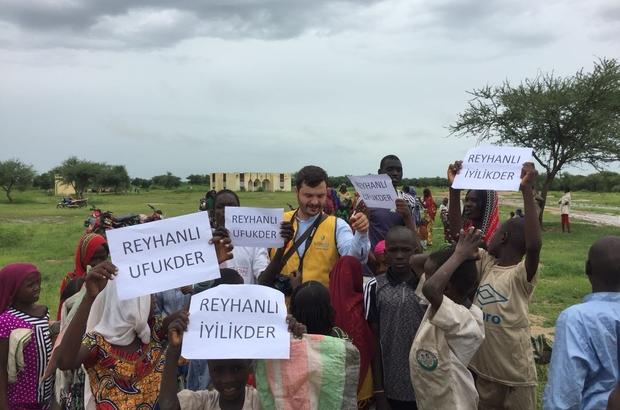 Reyhanlı İyilik Der Afrika'da kurban dağıttı