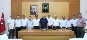 Başkan Toçoğlu misafirlerini ağırladı