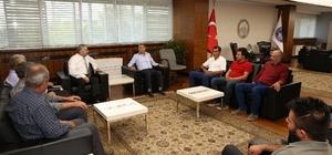 Şıhbarak Sulama Kooperatifinden Başkan Çelik'e teşekkür