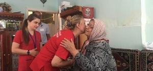 Kayseri'de yaşlılar bakımsız ve yalnız kalmıyor