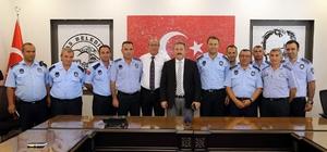"""Başkan Palancıoğlu: """"Zabıta belediyemizin yüzü"""""""
