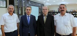 Kaymakam Yazıcı ve Başkan Karakullukçu'dan, Başkan Dişli'ye ziyaret