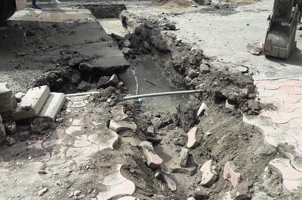 Silvan'da kablolar kesilince internetsiz kaldı
