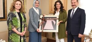 Başkan Yılmaz, KADEM'i ziyaret etti Karesi'de 'Gülistan' projesi hayata geçiyor