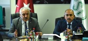 """""""Yukarı Afrin İçmesuyu İsale Hattı"""" projesinin sözleşmesi imzalandı"""