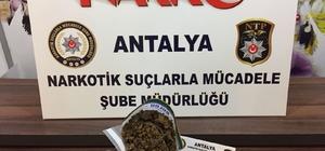 Antalya'da uyuşturucu operasyonuna 4 tutuklama
