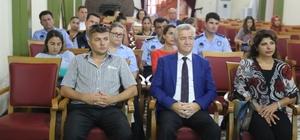 Burhaniye'de Belediye personeline etik davranış ilkeleri eğitimi