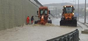 Kastamonu'da metrekareye düşen yağış miktarları belli oldu