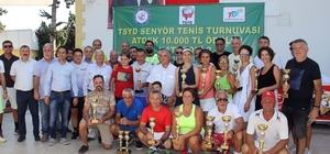 Senyör Tenisçiler Turnuvası'nda kupalar sahiplerini buldu