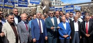 """AK Parti İl Başkanı Çopuroğlu: """"Adnan Menderes ve yol arkadaşları; savunma dahi yapılmasına izin verilmeyen hukuk dışı muameleye maruz kalmıştır"""" """"27 Mayıs 1960 darbesinin izdüşümleri incelendiğinde 15 Temmuz alçak FETÖ darbe girişiminin aynı kalemden çıktığı anlaşılmaktadır"""""""