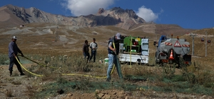 Erciyes'ten toplanan tohumlar Erciyes'e dikiliyor