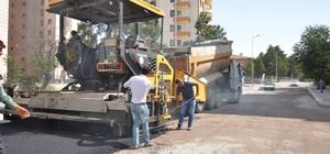 Nurihas Mahallesi'nde 5 Cadde Ve 5 Sokağın Yolları 13 Bin Ton Asfaltla ile Yenileniyor