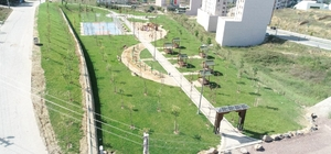Çayırova'da yeni park ilgi topladı