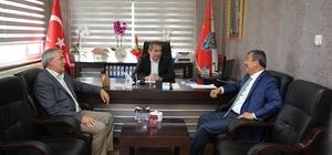 Başkan Karabacak'tan Şeker'e hayırlı olsun ziyareti