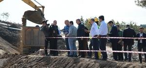 """Vali Balkanlıoğlu: """"Akçay Barajı Türkiye'ye örnek bir proje"""""""