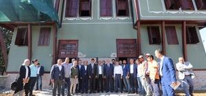 Başkan Karaosmanoğlu'ndan Demirci Konağı'nda inceleme