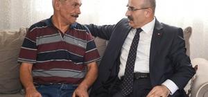 """Vali Demirtaş: """"Şehit ailelerini koruyup gözetmeye devam edeceğiz''"""