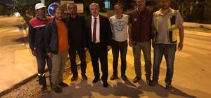 Başkan Baran'dan personele moral ziyareti