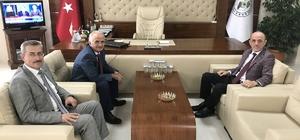 Başkan Öztürk'ten Kaynarca'ya geçmiş olsun ziyareti