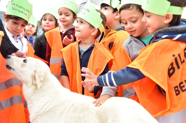 200 Anaokulu öğrencisi Can Dostları Ile Buluştu 4 Ekim Hayvanları
