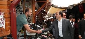 Başkan Altay, Akşehir'de yatırımları inceledi