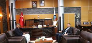 Sofuoğlu'dan Başkan Alemdar'a ziyaret