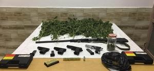 Narkotik köpeği 'Rüzgar' ile uyuşturucu operasyonu: 2 gözaltı