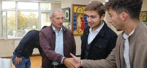 ÜNİAK'dan Başkan Dişli'ye ziyaret
