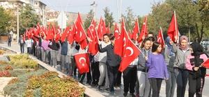 Öğrenciler İstiklal Yolu Parkı'nda ders işledi