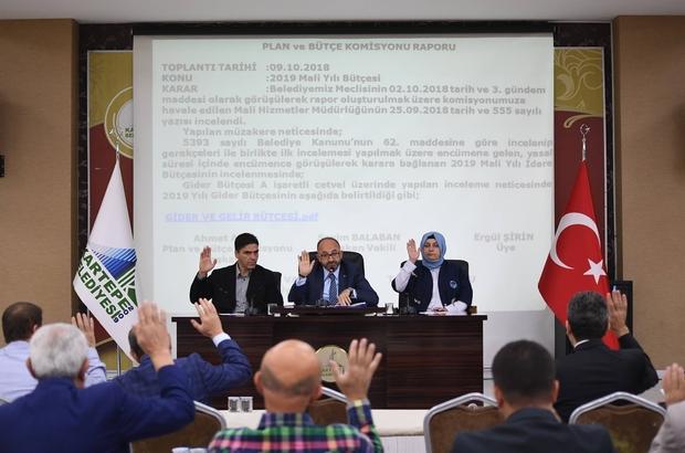 Kartepe Belediyesi'nin 2019 bütçesi 140 milyon TL olarak belirlendi