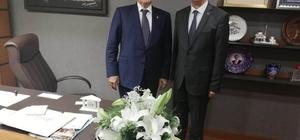 Başkan Bozkurt TBMM'yi ziyaret etti