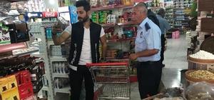 Şırnak Belediyesi iş yerlerinde etiket denetimi yaptı