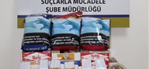 Çankırı'da yasa dışı satışı olan maddelere yönelik denetim yapıldı
