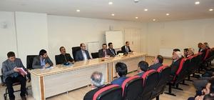 Başkan Vekili Türkmen, muhtarlarla bir araya geldi