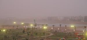 Toz bulutu Cizre'de hayatı olumsuz etkiledi